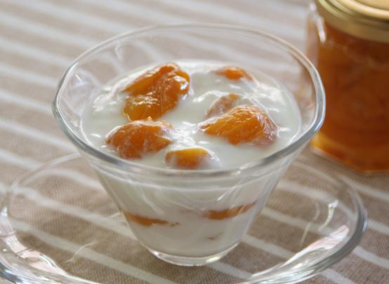 金柑みりん煮と金柑ヨーグルト