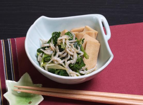 セロリの葉と高野豆腐の佃煮