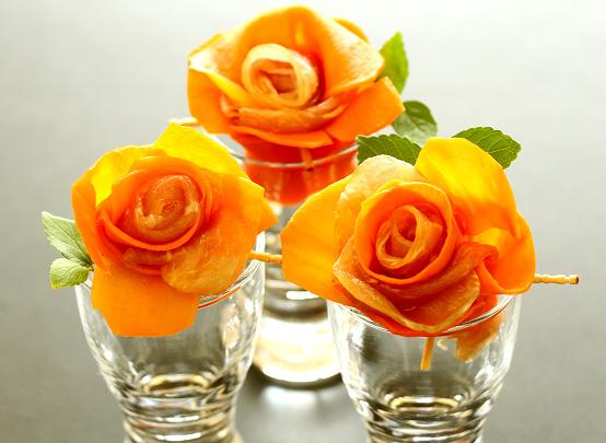 人参の薔薇仕立て