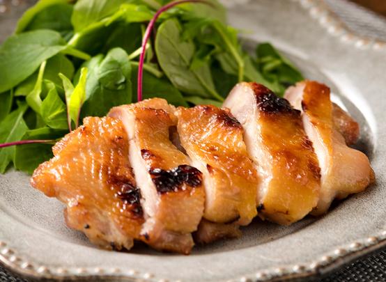 鶏肉のもろみ照り焼き