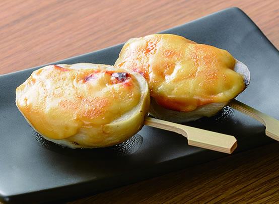 <漬け鶏みそ焼き 白味噌 アレンジレシピ> 里芋の味噌チーズ焼き