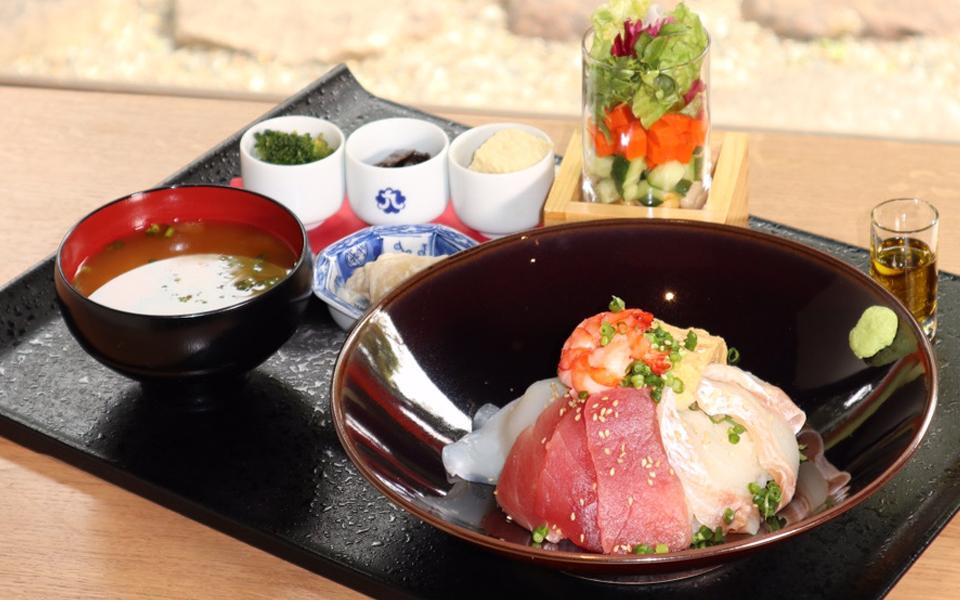 みりん屋の海鮮丼御膳 1日10食限定
